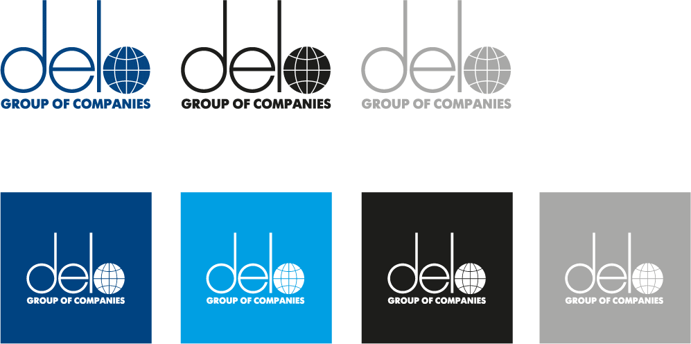 Delo Group logo (acceptable color usage)